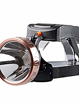 cheap -headlamp rechargeable flashlight portable emergency lights waterproof camping light for tent lantern/patio/garden/power failure (size : standard)