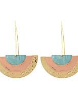 cheap -Women's Drop Earrings Earrings Dangle Earrings Geometrical Fashion Birthday Simple Baroque Trendy Fashion Modern Earrings Jewelry Gold For Street Gift Date Vacation Festival 1 Pair