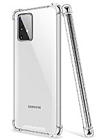 cheap -salawat galaxy s10 lite case, clear galaxy s10 lite case cute gradient slim phone case cover reinforced tpu bumper shockproof protective case for samsung galaxy s10 lite 6.7 inch 2020 (crystal clear)