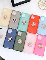 cheap -Case For Apple iPhone 11 / iPhone XR / iPhone 11 Pro Shockproof Back Cover Solid Colored TPU