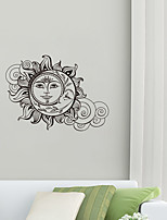 cheap -Creative Sunflower Buddha Pattern Wall Stickers Wallpaper Can Remove The Living Room Art Deco Stickers