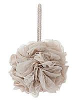 cheap -bath sponges, shower loofah for body exfoliation(1 pcs, brown)