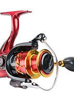 cheap -Fishing Reel Spinning Reel 5.5:1/4.7:1 Gear Ratio+6 Ball Bearings Sea Fishing / Bait Casting / Freshwater Fishing / Trolling & Boat Fishing / Hand Orientation Exchangable