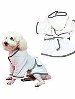 cheap -dog fast drying bathrobe, super absorbent pet robe, dog towel super absorbent soft pet bathrobe with belt, pet bath towel pajamas for small medium large dog and cat