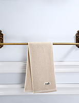 cheap -Bathroom Towel Bar, Multifunctional Hardware Accessory Towel Bar with Golden Pattern, Aluminum, 61.2cm, Wall Mounted