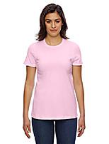 cheap -women's fine jersey classic short sleeve t-shirt, pink, xx-large