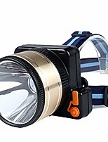 cheap -led glare long-range outdoor waterproof charging high-power induction headlights, outdoor riding night fishing headlights (color : white light, size : large)