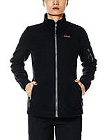 cheap -women's fleece jacket outdoor travelling warmth light weight xs deep gray