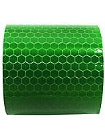 cheap -high visibility safety warning outdoor safety reflector stickers self adhessive waterproofand highly reflective tape roll for bicycle car green 2″x9.8′ 1pcs