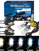 cheap -OTOLAMPARA 1 Box HID Xenon Kit H4 4300K 6000K 8000K 10000K AC 12V 55W Super Bright Lightness IP68 Waterproof Quick Start HID H4 Dual Xenon HID Kit