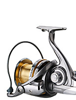 cheap -Fishing Reel Spinning Reel 4.6:1 Gear Ratio+7 Ball Bearings Sea Fishing / Bait Casting / Freshwater Fishing / Trolling & Boat Fishing / Hand Orientation Exchangable