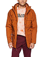 cheap -men's renton heavy weight winter parka jacket, hazelnut, large