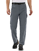 cheap -men's outdoor quick dry water-resistant hiking pants,breathable, upf, grey, 34