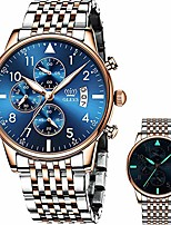 cheap -chronograph wrist watches men,gold blue watches for men,stainless steel man watch with date,big dial watches for men,luxury waterproof man watch,two gold men watch, luminous wristwatch mens