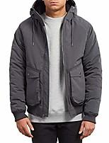 cheap -men's master coaster heavy weight jacket, black, large