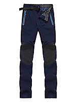 cheap -men's outdoor trail sportswear windproof softshell hiking pants navy small