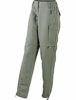cheap -womens/ladies zip-off pants (xl) (dusty olive green)