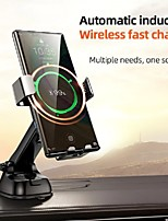cheap -Joyroom JR-ZS220 Automatic Clamping Car Wireless Charger 15W Quick Charge Infrared Sensor Car Phone Holder Stand Qi Wireless Charger Mount For Iphone Samsung Xiaomi