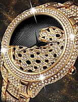 cheap -Women's Quartz Watches Quartz Stylish Fashion Adorable Analog Golden+Black White+Gold Gold / One Year