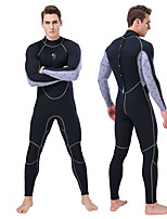 cheap -SLINX Men's Full Wetsuit 2mm Nylon SCR Neoprene Diving Suit Long Sleeve Back Zip - Swimming Diving Surfing Patchwork Spring &  Fall Summer Winter / Stretchy