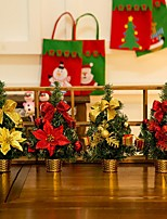 cheap -1pc Christmas Decorations Christmas Trees / Christmas Ornaments / Christmas Stockings, Holiday Decorations Party Garden Wedding Decoration