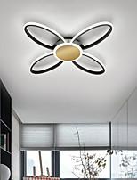 cheap -50/60 cm LED Ceiling Light Modern Nordic Geometric Shapes Black White Gold Living Room Bedroom Flush Mount Lights Metal Painted Finishes 110-120V 220-240V
