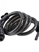 cheap -bike lock cable,4 feet bicycle lock basic self coiling resettable combination cable bike locks with complimentary mounting bracket, 4 feet x 1/2 inch
