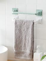 cheap -Toilet Towel Rack Free Punch Suction Cup Toilet Single Rod Hanging Towel Bar Bath Towel Bathroom Shelf