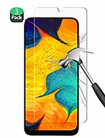 cheap -galaxy a50 screen protector, galaxy a30 screen protector, folice [anti scratch][anti-fingerprint][bubble free][no-bubble] tempered glass screen protector for samsung galaxy a30 /a50 2019 (3 pack)