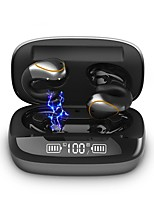 cheap -LITBest 20 TWS Wireless Headphones Bone Conduction Mini Bluetooth 5.0 Earphone Music Sport Handsfree Headsets with Microphone Touch Control