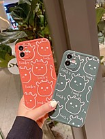 cheap -Case For Apple iPhone 12 / iPhone 11 / iPhone 12 Pro Max Shockproof Back Cover Cartoon TPU