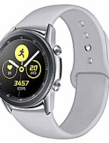cheap -bands compatible samsung galaxy watch 3 41mm/ 42mm/ galaxy watch active /gear sport, 20mm soft silicone replacement wristband for samsung galaxy watch 3 smartwatch, women men, large small