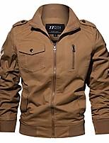 cheap -muranba plus size men's turndown military tactical outdoor work coat jacket