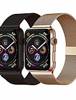 cheap -2 pack compatible for apple watch band 40mm 44mm series 6,series 5,series 4,series 3,series 2,series 1,series se and wristband for iwatch 38mm 42mm (gold+black, 42mm/44mm)