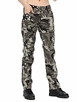 cheap -women long pants camo army loose military style pants for outdoor sports