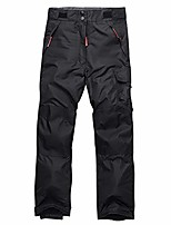 cheap -kids waterproof snow pants outdoor windproof ski hiking cargo for boys girls #9932 black-xs