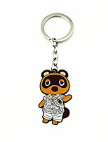 cheap -acnh acnl dom tom nook raymond marshal ankha animal villagers crossing keychains gifts for men woman (tom nook)