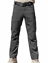 cheap -men's tactical pants with multiple pockets summer breathable lightweight pants duty work pants (gray, 30w)