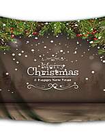 cheap -Christmas Santa Claus Holiday Party Wall Tapestry Art Decor Blanket Curtain Picnic Tablecloth Hanging Home Bedroom Living Room Dorm Decoration Christmas Gift Letter Polyester Views