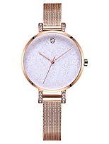cheap -women analog quartz watches starry sky classic waterproof ladies dress wrist watches rose gold