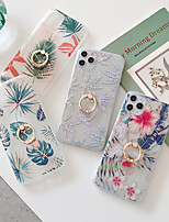 cheap -Case For Apple iPhone 12 / iPhone 11 / iPhone 12 Pro Max Shockproof Back Cover Flower TPU
