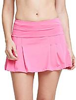 cheap -women's athletic skorts with shorts pockets running tennis golf workout sports skorts, pink,xs