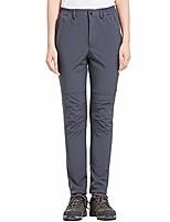 cheap -hiking pants women ski waterproof snow winter fleece travel warm outdoor fleece-lined soft shell pants 809f, dark grey, 26