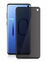 cheap -galaxy s10 privacy screen protector, welmax [no bubbles] [case friendly] [full coverage] [3d touch] premium tempered glass screen protector,for samsung galaxy s10