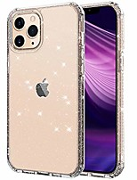 cheap -compatible with iphone 12 case/compatible with iphone 12 pro case 6.1 inch 2020, clear glitter anti-scratch shockproof protective case (clear glitter)