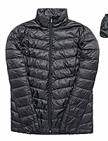 cheap -women's lightweight down jacket/packable with travel bag/water-resistant heat reflective technology ultra lightweight (l, black)