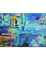cheap -Oil Painting On Canvas Abstract Contemporary Art Wall Paintings Handmade Painting Home Office Decorations Canvas Wall Art Painting Rolled Canvas No Frame