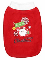 cheap -pet christmas holiday dog cat pet shirts tee tanks naughty santa outfit elf puppy santas helper pet clothes outfit m