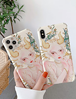 cheap -Case For Apple iPhone 12 / iPhone 11 / iPhone 12 Pro Max Shockproof Back Cover Sexy Lady TPU