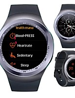 cheap -Y1 Smartwatch Support Bluetooth Call/Heart Rate/Blood Pressure Measure, Sports Tracker for Android/iPhone/Samsung Phones